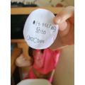 Isla's secret code!