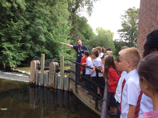Learning about the water mill