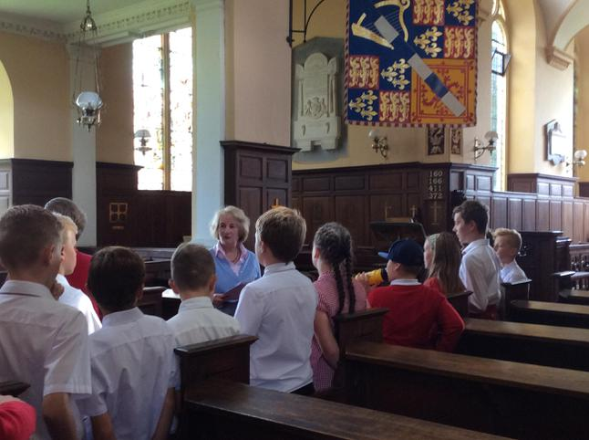 Inside Euston Church