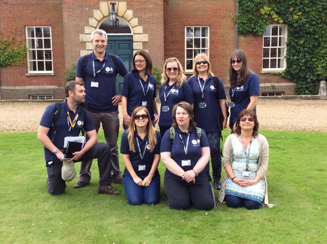 Team Barnham feel at home!