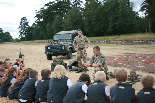 RAF Honington share how they track enemy footprint