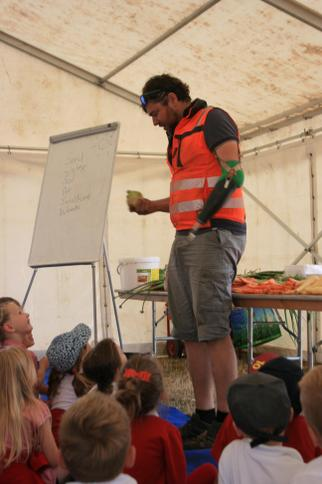 Tom shares with us how vegetables are packaged
