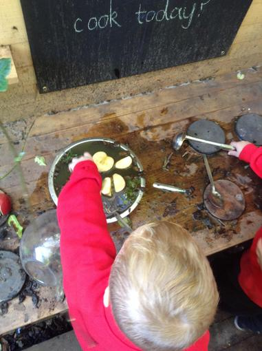 The chefs in the Nursery have had a very busy week
