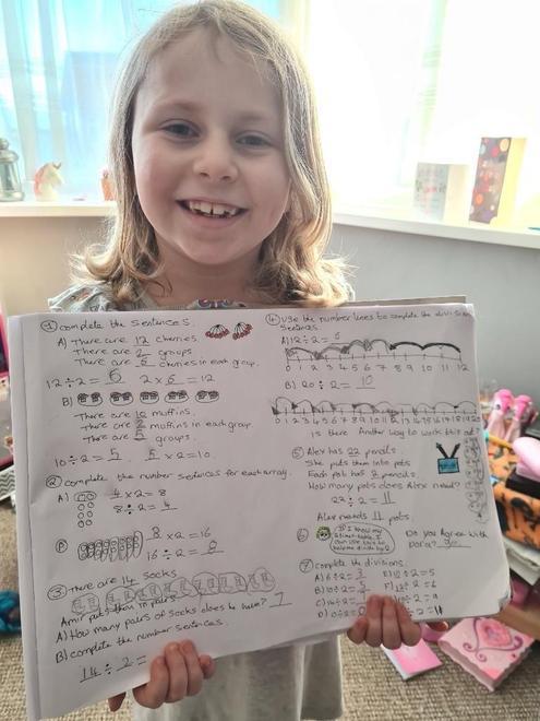 Ava's brilliant maths