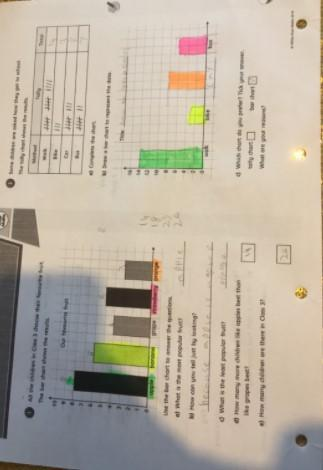 Evelyn's Bar Charts