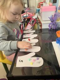 Daisy-Mae counting objects
