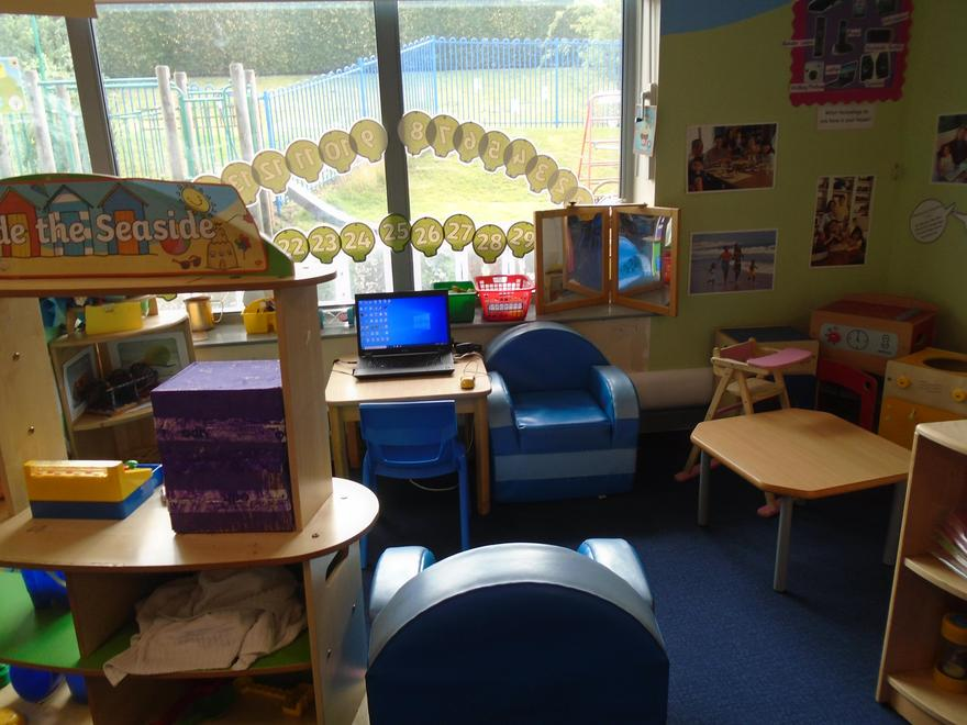 The role play area
