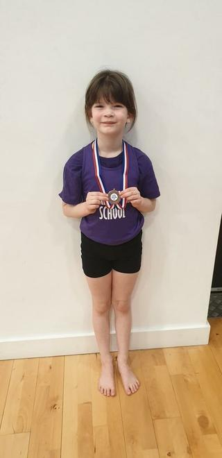 Molly came 3rd - Well Done Molly!