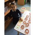 Ordering our numbers from 0 to 10