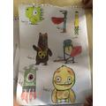 Amelia's fantastic drawings!