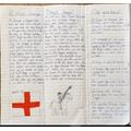 Jasmine's St George's Day leaflet