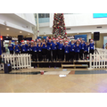 Barton Choir at Eurotunnel