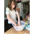 Ellie baking