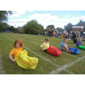 The sack race is always a favourite!