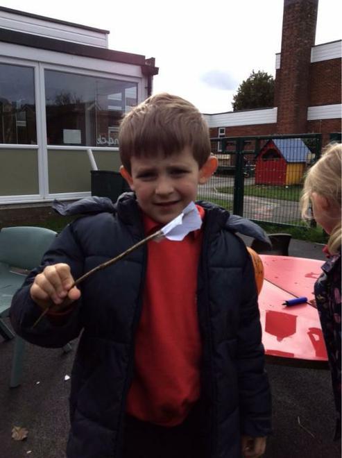 Creating magic wands