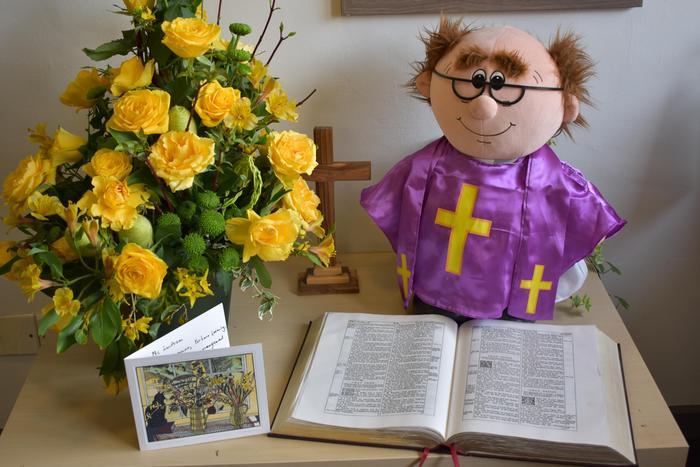 Reverend Theo - School Theologian