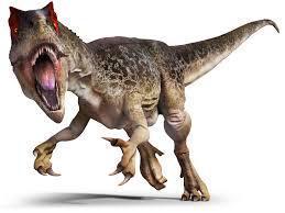 """""""A dinosaur saying 'Rarrghh!'"""""""