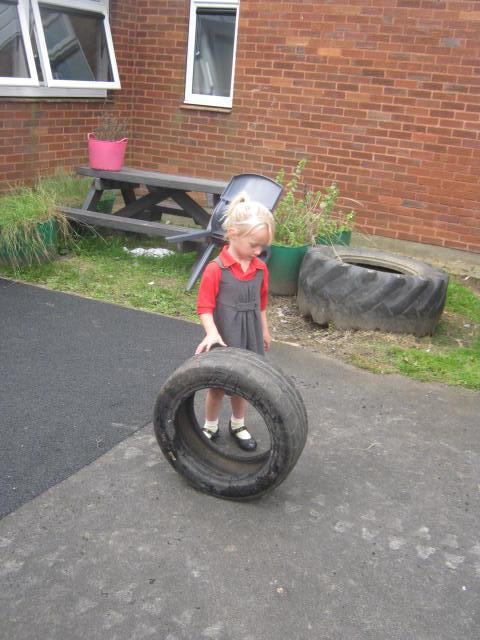 Playing with the tyres
