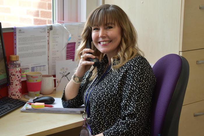 Mrs L Richardson - Office Admin