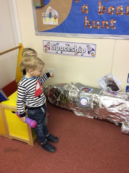 We've found a rocket!
