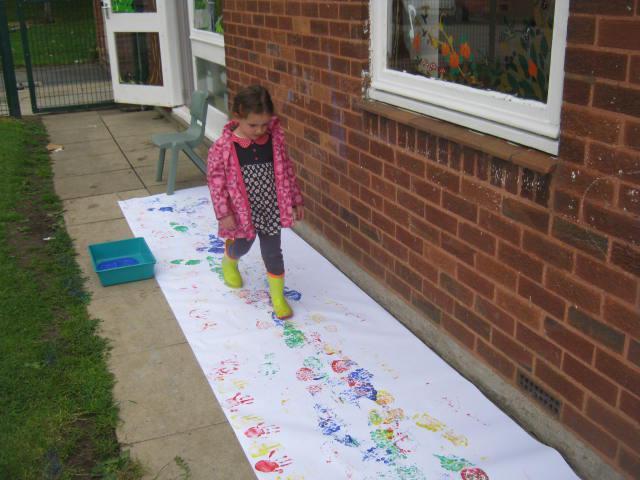 Welly footprints