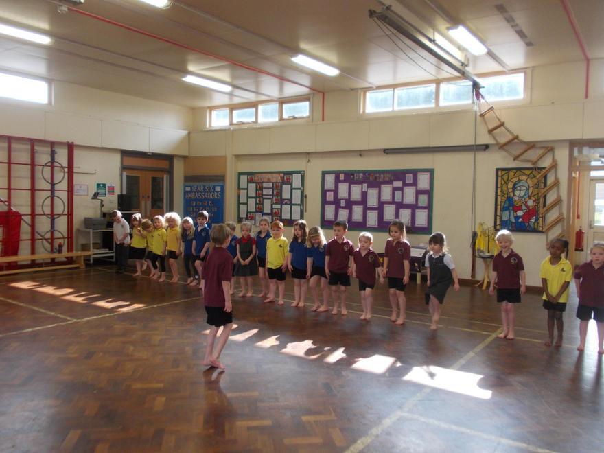We celebrated with some Irish Dancing.