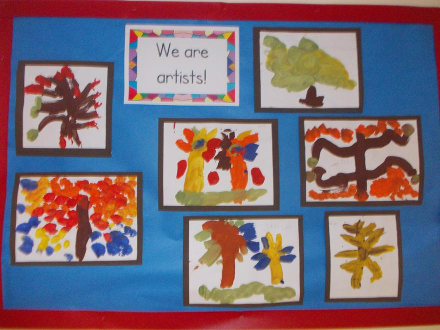 We are artists!