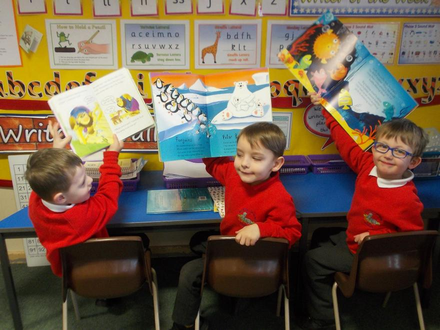 We really enjoyed taking part in the book swap!