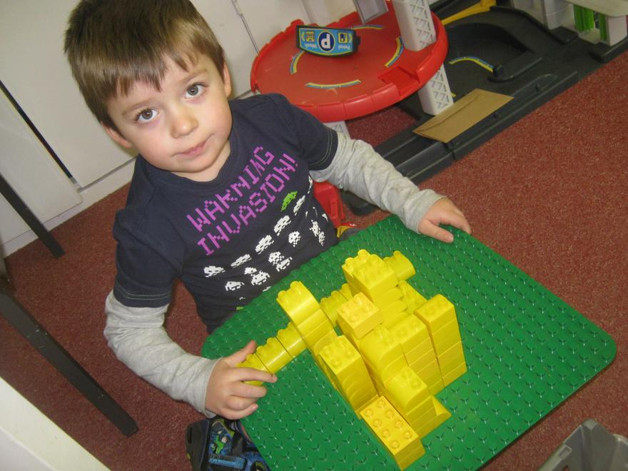 Z.M has created a yellow brick house