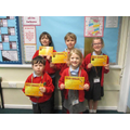 Gold Award Winners - Friday 24th january