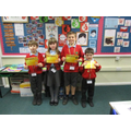 Award winners Friday 29th November