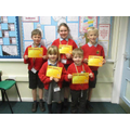 Gold Award Winners - Friday 7th February