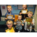Award winners Friday 15th November