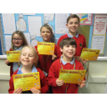 Award Winners - Friday 28th February