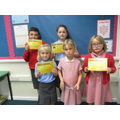 Award Winners 6th September 2019