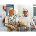 Mrs Mellor and Mrs Andrews our kitchen staff.