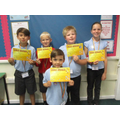 Award Winners 13th September