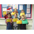 Award winners Friday 20th December