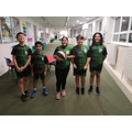 Year 5/6 Basketball Team 4th Place