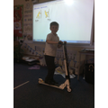 Learning about forces thanks to Scooter Club/ PTA