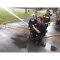 Firemans visit - June