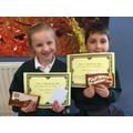 Year 2 Spelling Bee winners