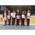 year 3/4 Gymnastics Team