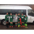 Year 6 Boys A Team football league winners!