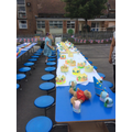 Street Party Preparations - June