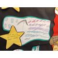 Chicha drew lots of stars