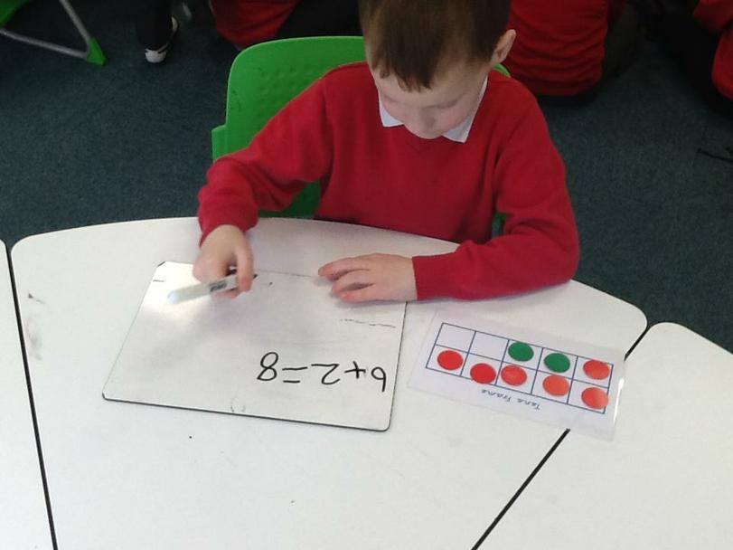 Andrew adding 2 numbers