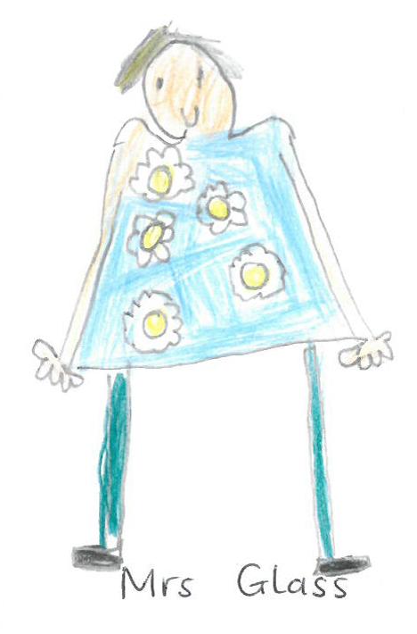Mrs Glass is a Teaching Asst in Breakfast Club
