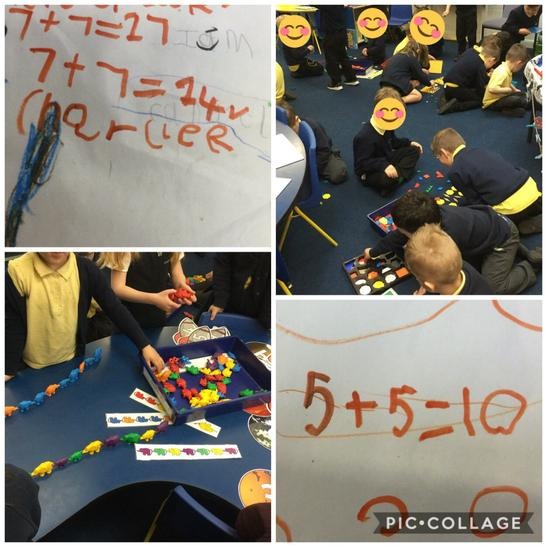 FS - pattern seeking and Number sentences