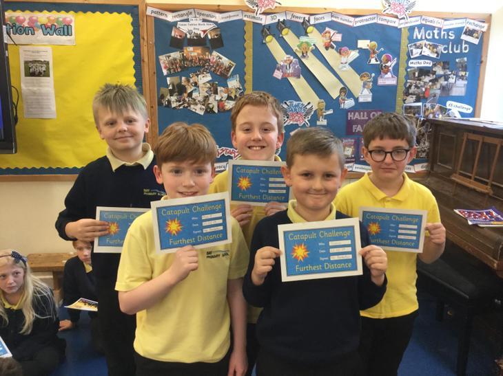 Catapult challenge winners
